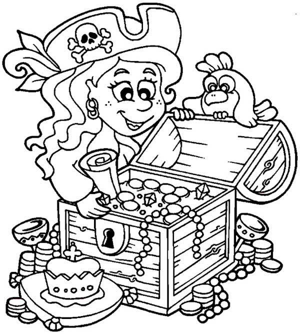Drawn pirate coloring book Coloring Download Coloring Coloring Pirate