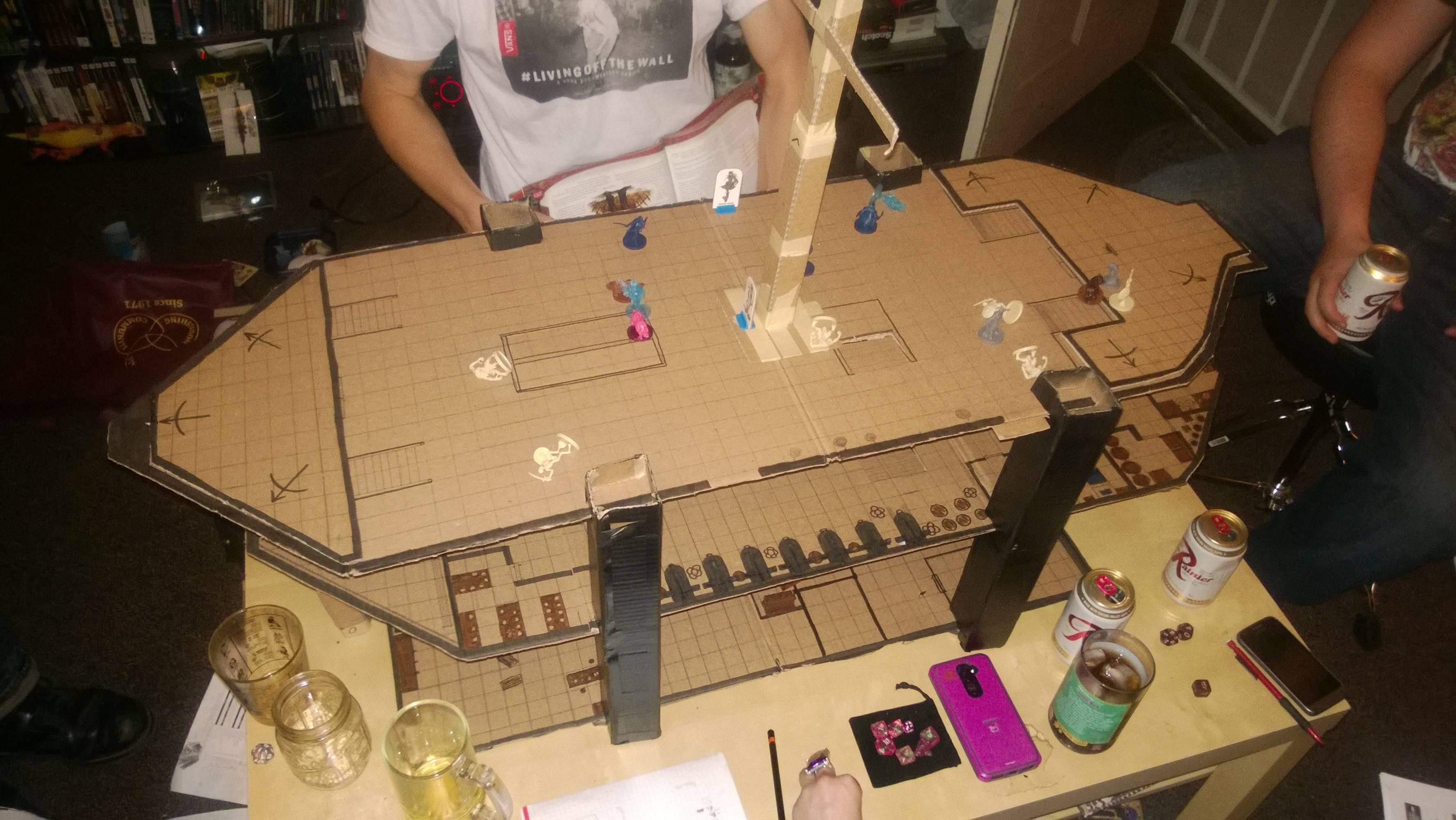 Drawn pirate d&d Build cardboard? Got pirate pirate
