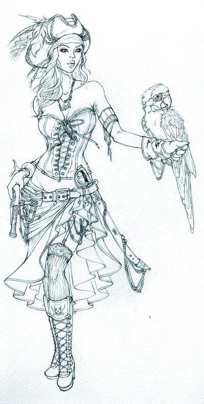 Drawn pirate female pirate Pirate want 20+ tattoos have