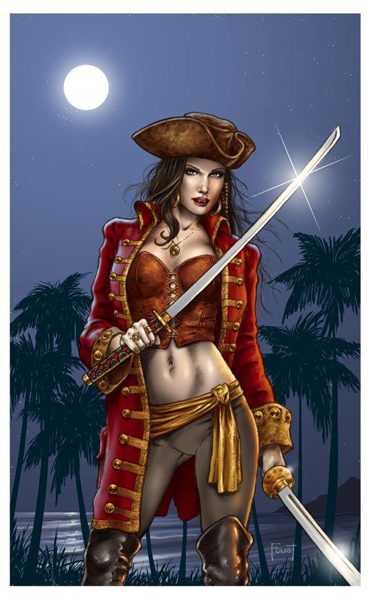 Drawn pirate lady pirate Pirate Deviant Artist Drawing Timbers
