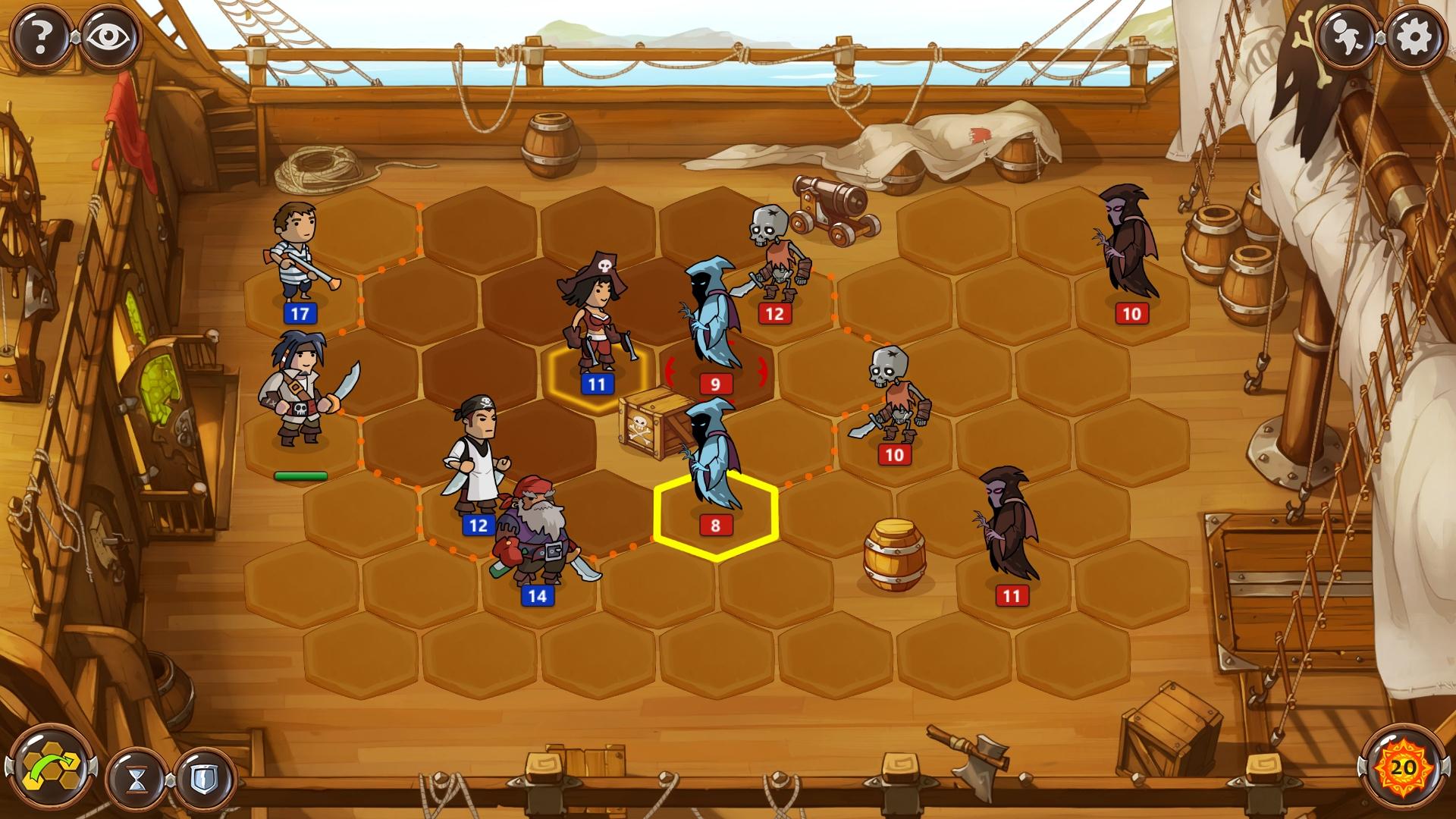Drawn pirate linux Trilogy Pirate Team: Braveland Tortuga