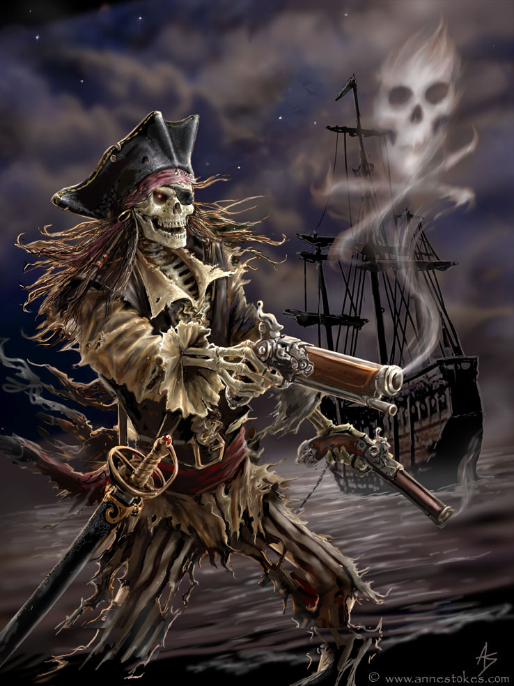 Drawn pirate mage Are lookin ye the for