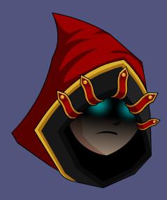 Drawn pirate mage Hood png Crimson ATBCoZy Mage