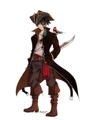 Drawn pirate male DeviantArt ShadowsByDay x x