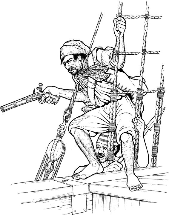 Drawn pirate male History Blood: the Pirate Pirates
