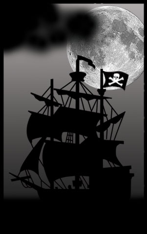 Drawn pirate marauder The Read Two about Sutherland