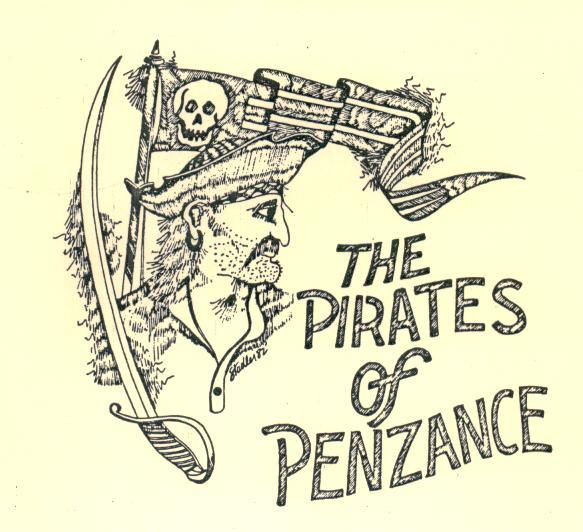 Drawn pirate penzance  :: Penzance 1982) Off