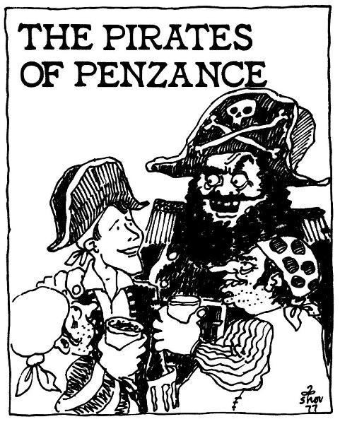 Drawn pirate penzance  Opera and Lexicon dissolved