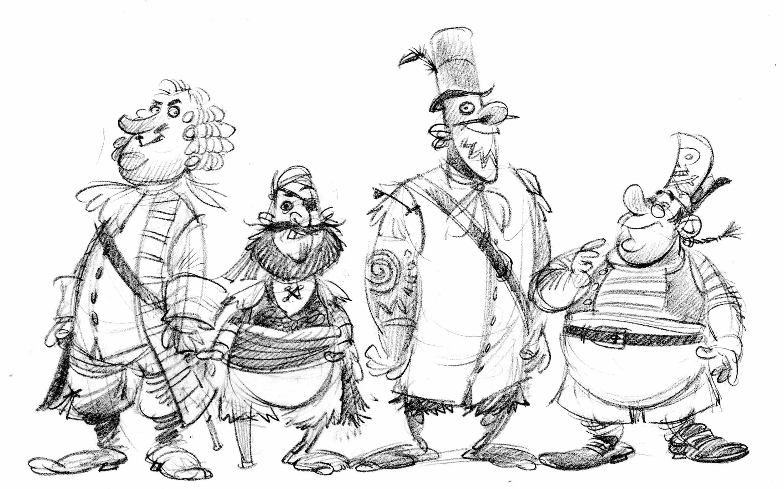 Drawn pirate penzance Manders' John Blog comment Leave