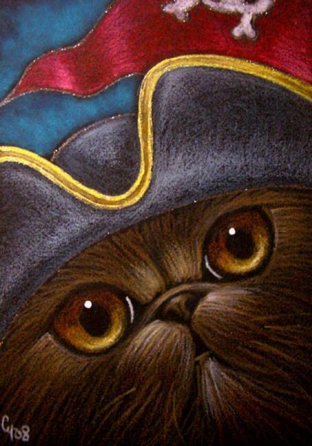 Drawn pirate persian HAT Art: PERSIAN R from