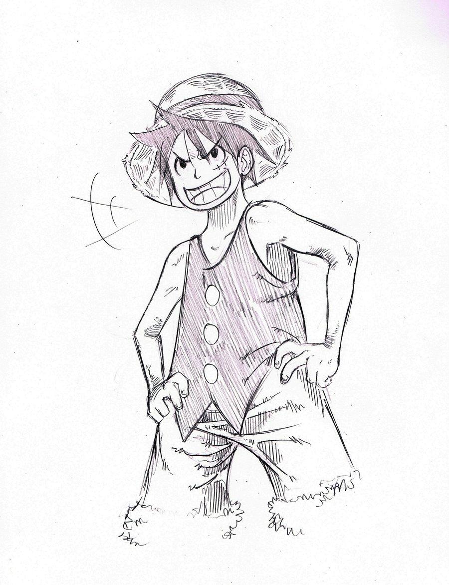 Drawn pirate pirate king King DeviantArt One Luffy King