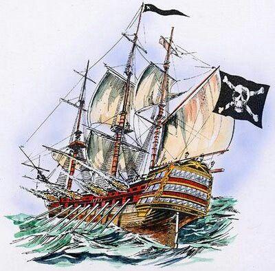 Drawn pirate pirate ship Na pomysłów temat ship 25