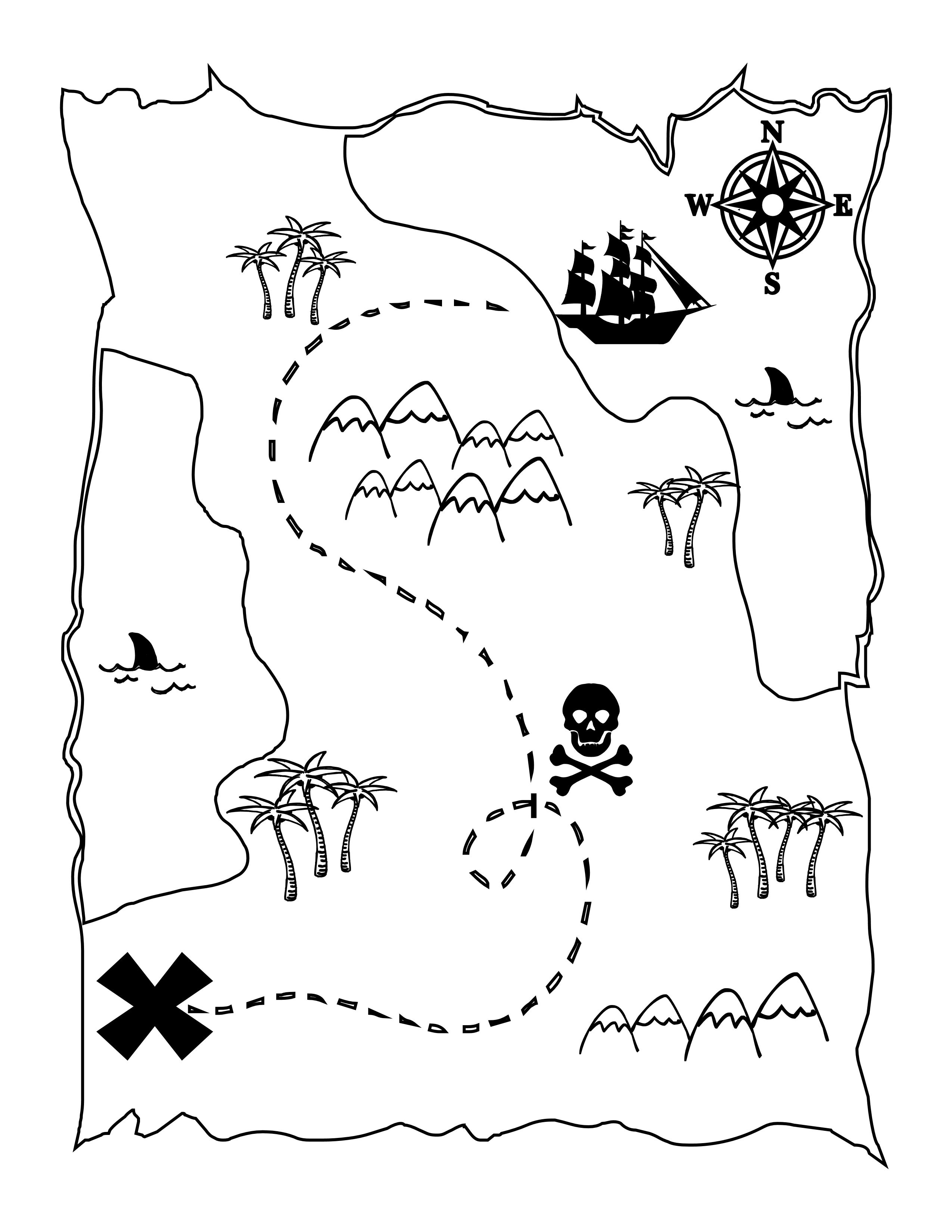 Drawn pirate printable { the kids Pirate for