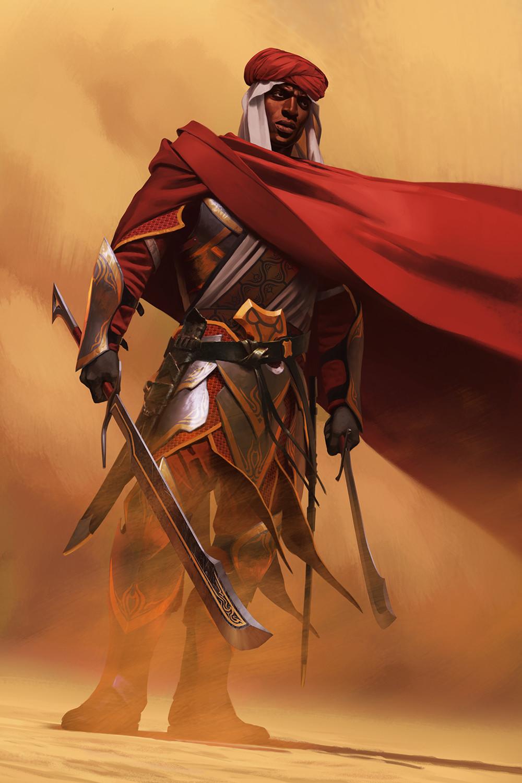 Drawn pirate redguard Adept Legends a Meehan Scrolls