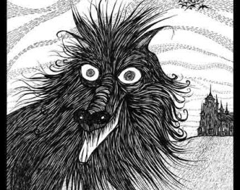 Drawn pirate scallywag Scallywag white black werewolf drawing