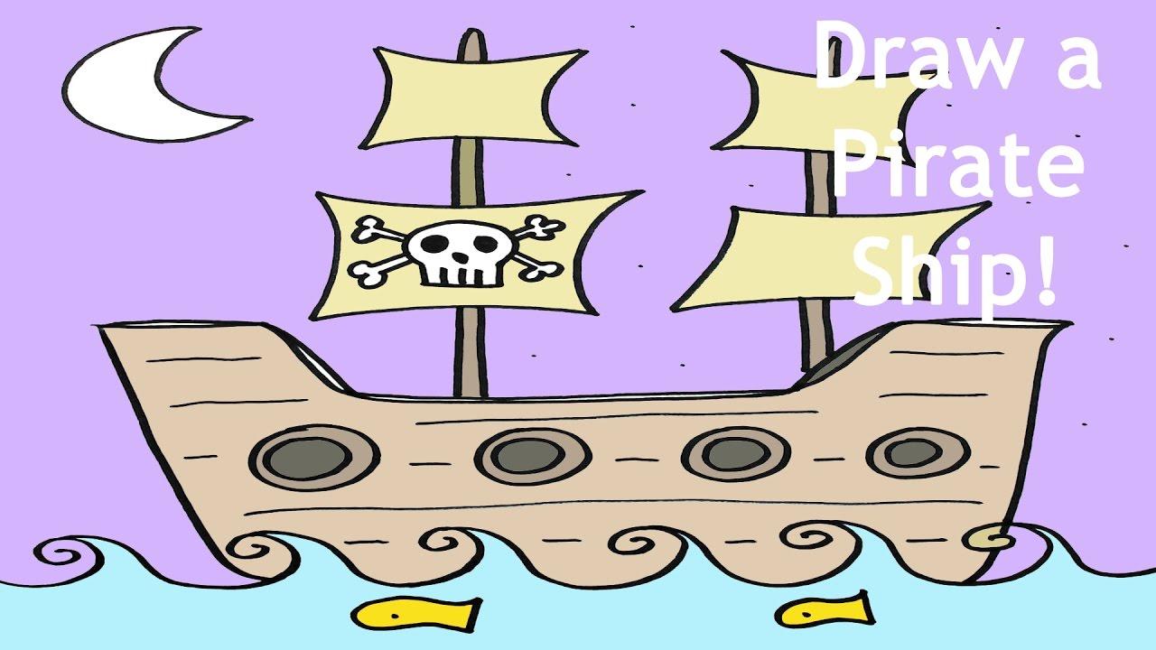 Drawn pirate simple #10