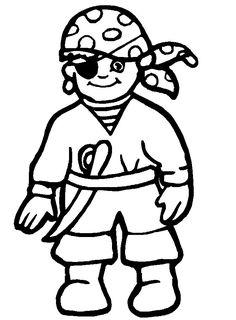 Drawn pirate simple #4
