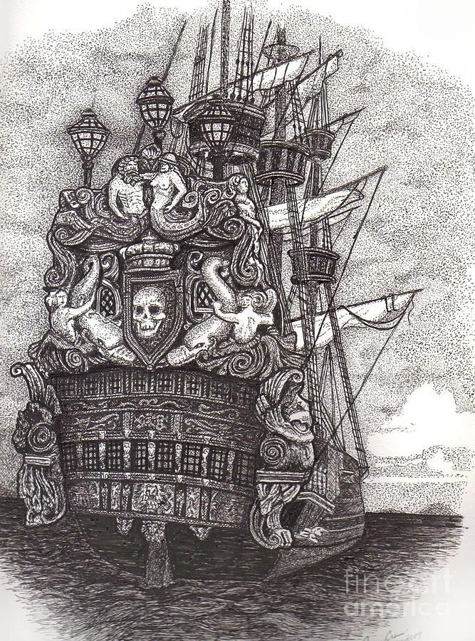 Drawn pirate sketch On ideas Art Pirate The