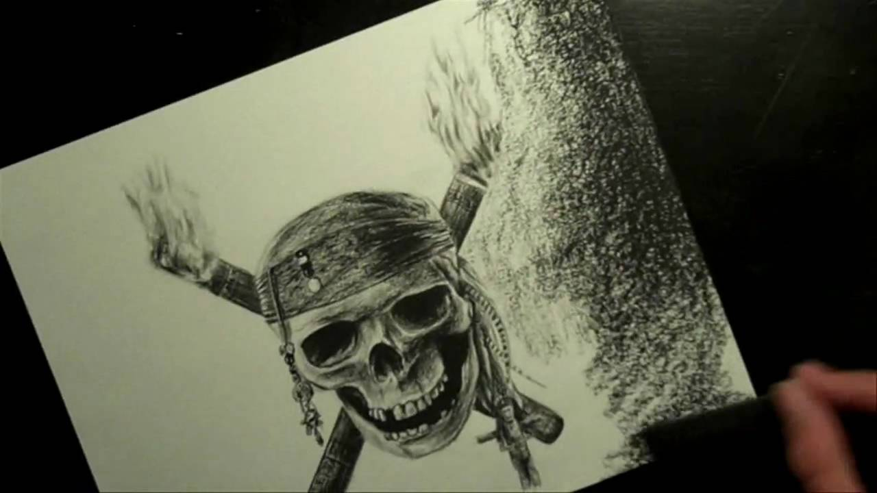 Drawn pirate sketch Skull pinsetter1991 Drawing Pirate Pirate