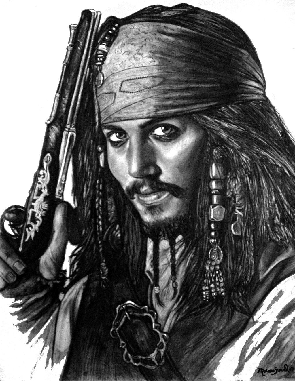 Drawn pirate sketch Sketch Pirate Pencil Art Realistic