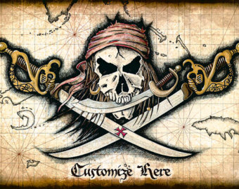 Drawn pirate spanish Art Rogers Swords Pirate Artwork