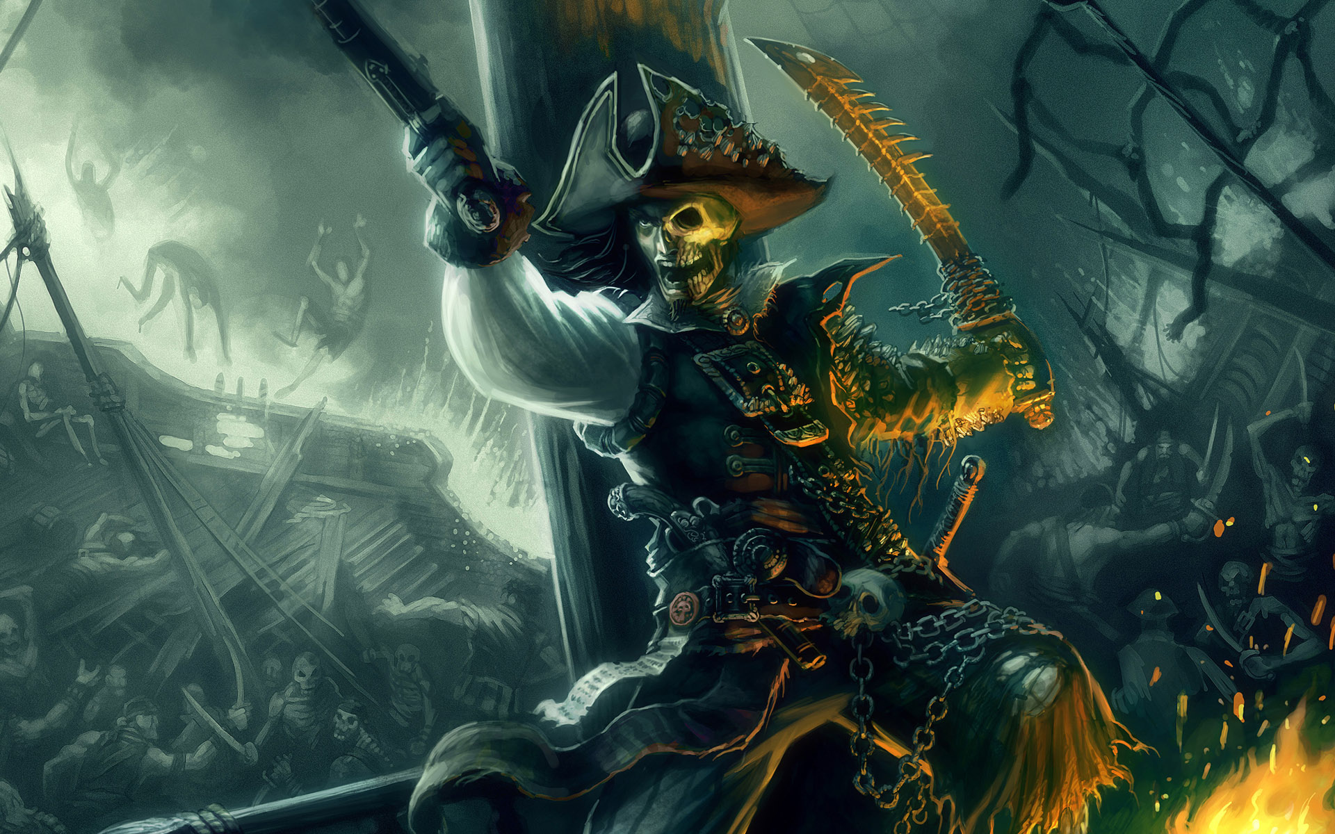 Drawn pirate undead The Build: Character Pirate The