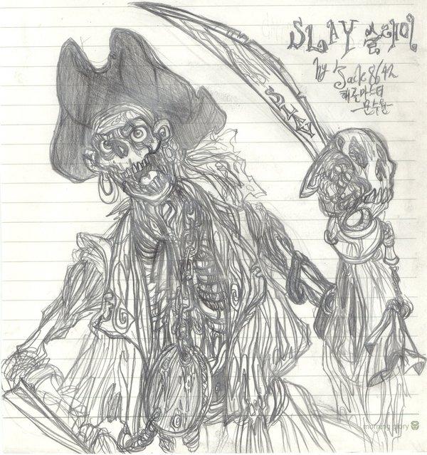 Drawn pirate undead DeviantArt by jack8642 Pirates jack8642