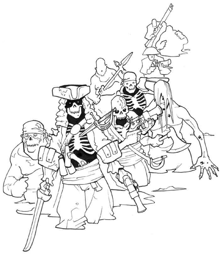 Drawn pirate undead DeviantArt by Pachycrocuta undead Pachycrocuta