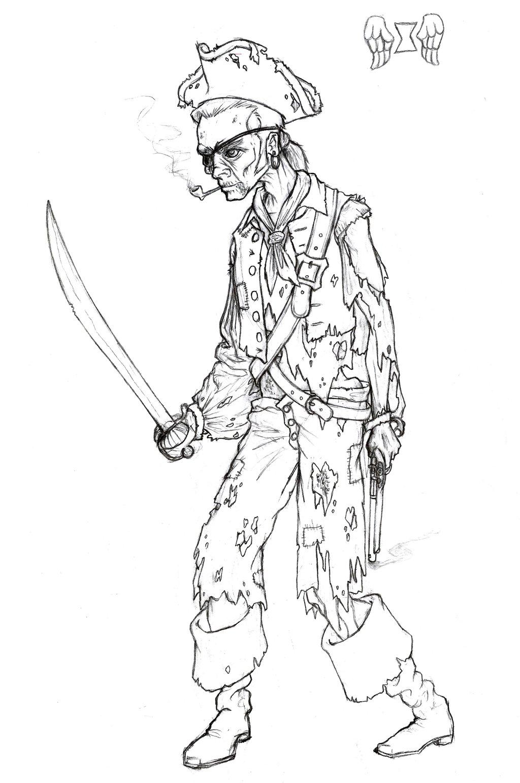 Drawn pirate undead Manveruon Manveruon Pirate by Undead