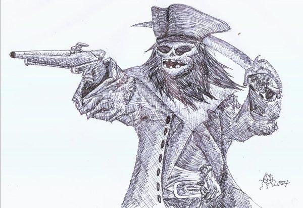 Drawn pirate undead DeviantArt lord seth Pirate seth
