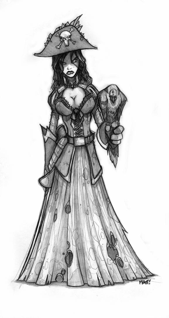 Drawn pirate undead DeviantArt by genesis Pirate genesis
