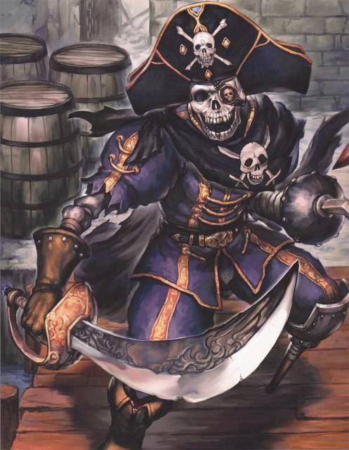 Drawn pirate undead Pirates Halls Freeport Nephilim: of