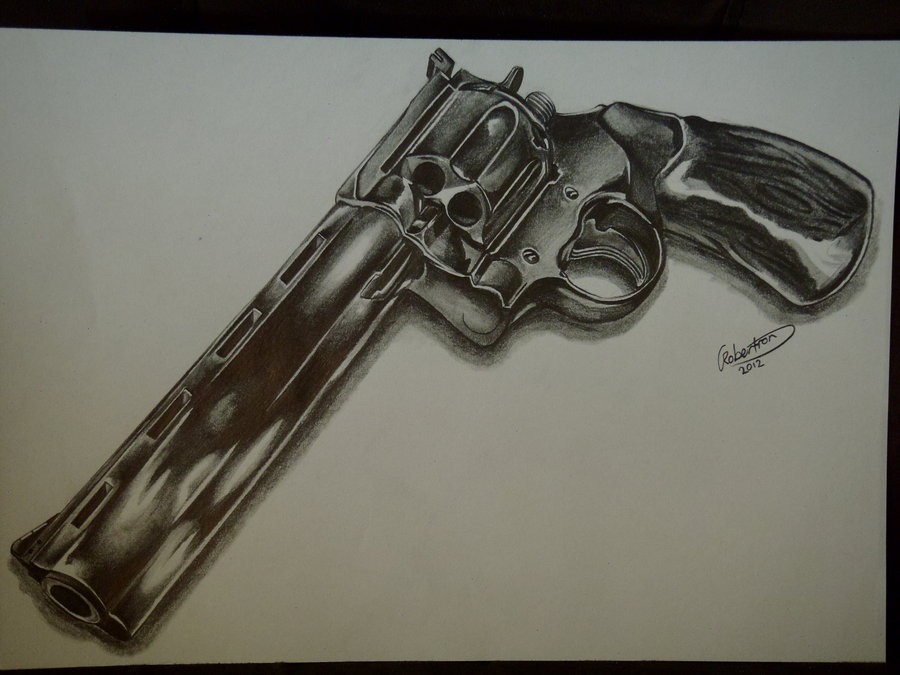 Drawn pistol 44 magnum 26 44magnum on AtholTheDestroyer magnum