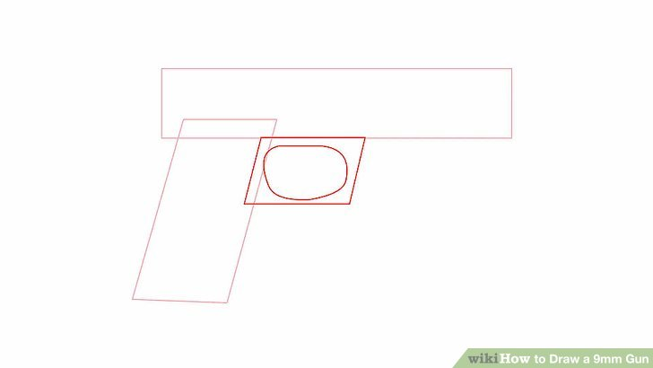 Drawn pistol 9mm A to Image 6 wikiHow