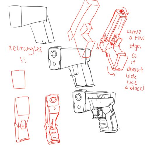 Drawn pistol anime Best Pinterest images  on