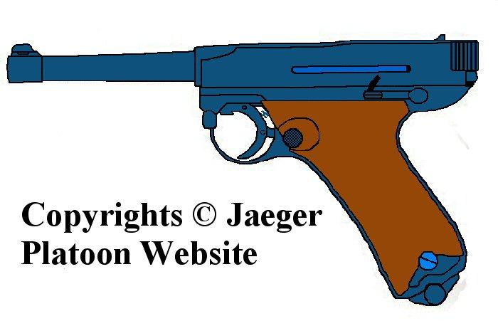 Drawn pistol army gun ARMY FINNISH Saloranta  military