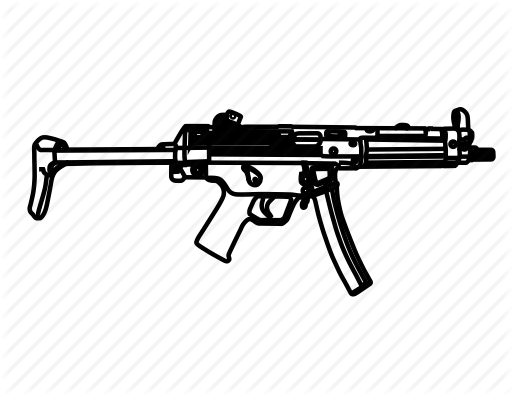 Drawn pistol army gun Weapon pistol police hkmp5a3 hkmp5a3