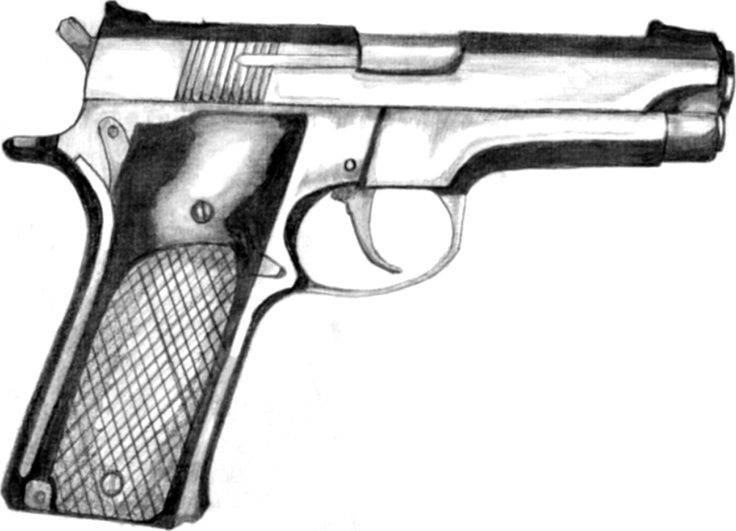 Drawn pistol awesome gun Awesome Pinterest Find 120 best