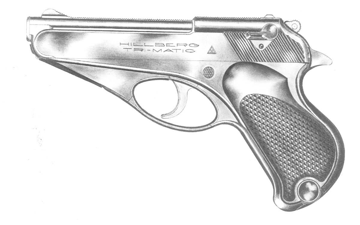 Drawn pistol basic Taglienti p drawing of book