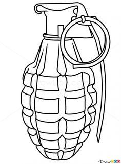 Drawn pistol basic Draw Drawing Draw step a