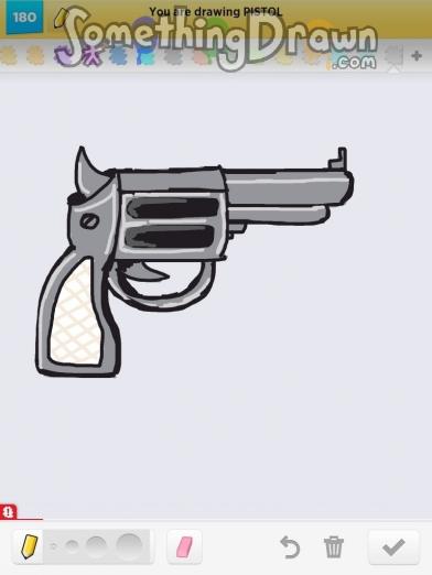 Drawn pistol basic Com PISTOL Draw SomethingDrawn asfisha