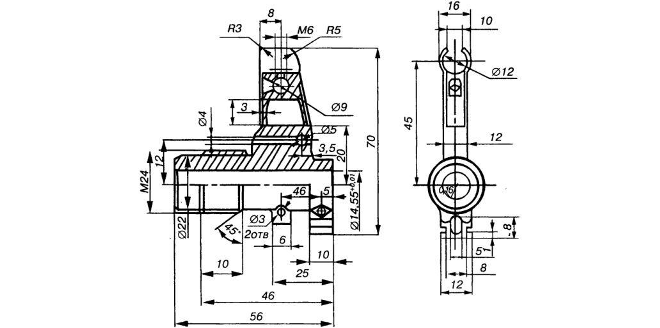 Drawn pistol blueprint Why part and The or