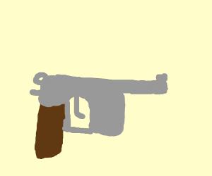 Drawn pistol cartoon Pistol Mauser C/96 C/96 Pistol