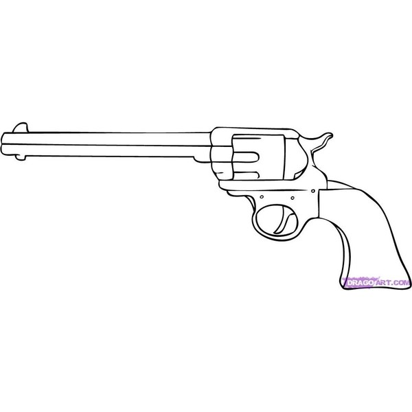 Drawn weapon glock 17 Step Draw Cartoon a by