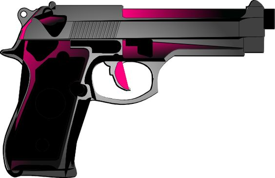 Drawn pistol clip art Free Clipart Shotgun  Pistols