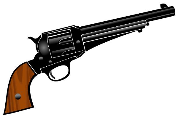 Shotgun clipart trap shooting Art on Pistols Art Free