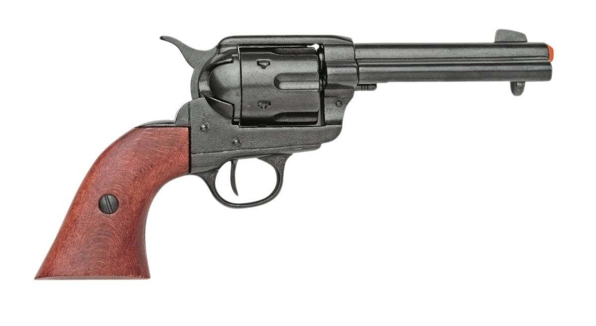 Drawn shotgun western gun PEACEMAKER Replica COLT M1873 45