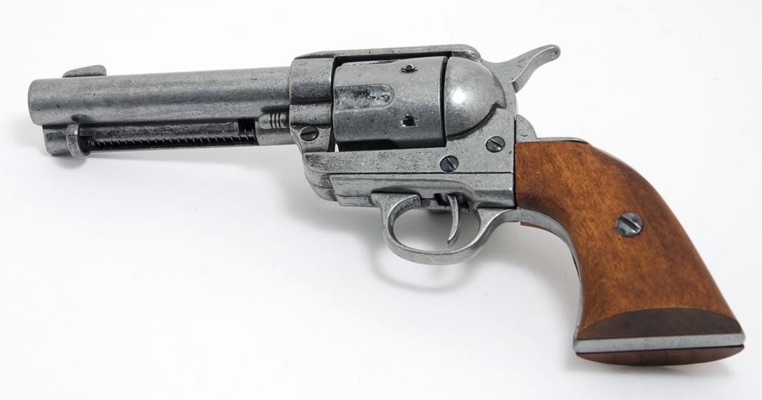 Drawn pistol colt 45 Pistol