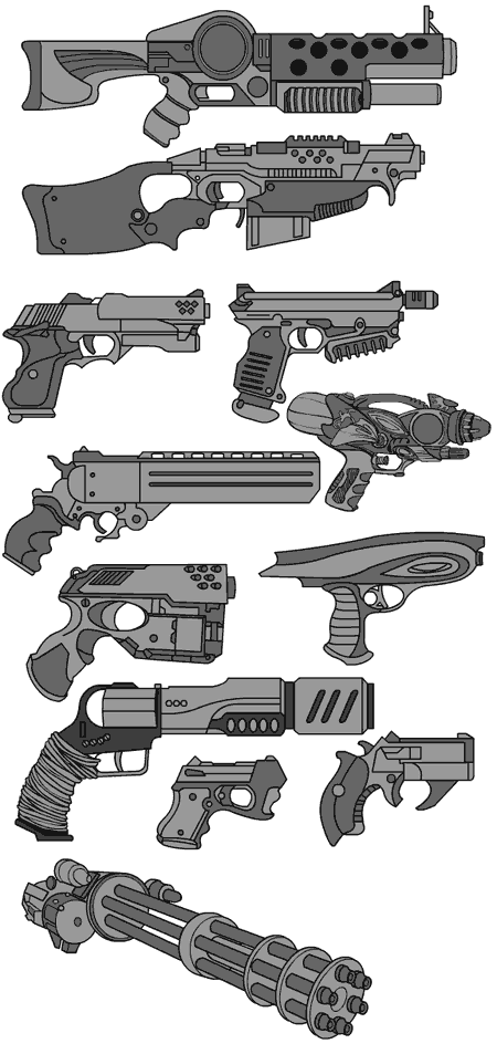 Drawn pistol cool gun Inspiration this Find Daily