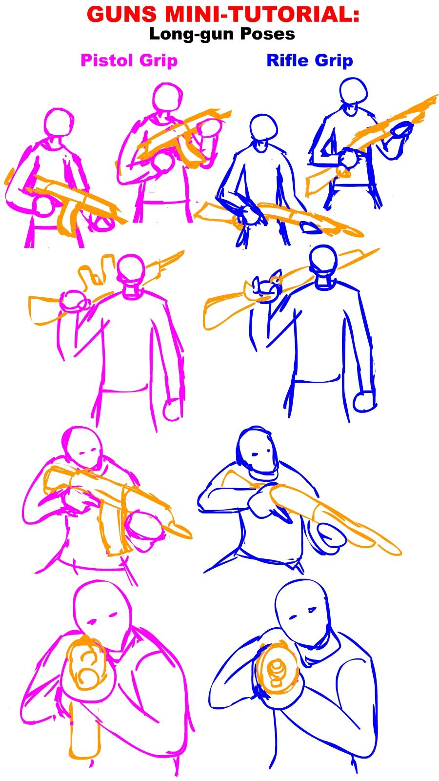 Drawn pistol cool gun Gun on Guns  Long